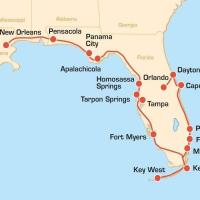 USA: Bikertour - Fun Ride vom Atlantik über die Florida Keys nach New Orleans